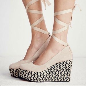 Free People Sexy Charade Espadrille Wedge